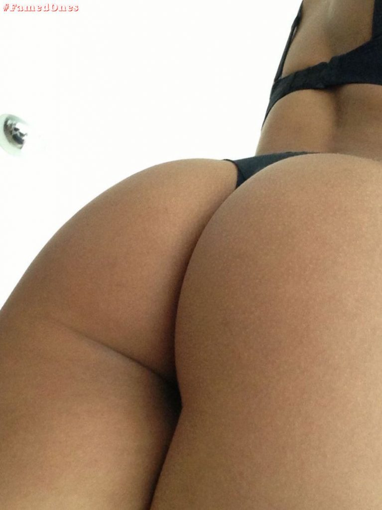 Chanel Coco Brown belfies butt selfie pics FamedOnes.com 002 01