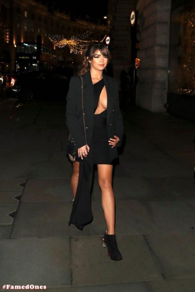 Demi Rose glam cleavage pics FamedOnes.com 068 01