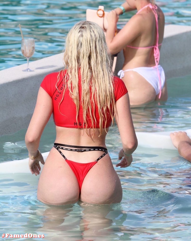 Chloe Ferry hot beach pool pics FamedOnes.com 080 17