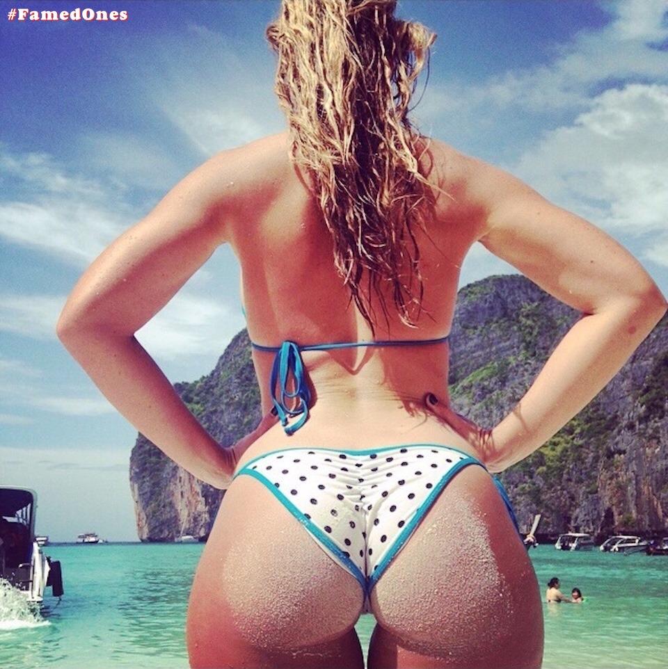 Megan Wilson bikini leaked private pics FamedOnes.com 007 01