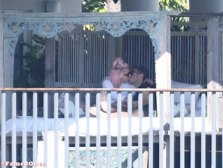 Lady Gaga undressed outdoor paparazzi pics FamedOnes.com 067 17