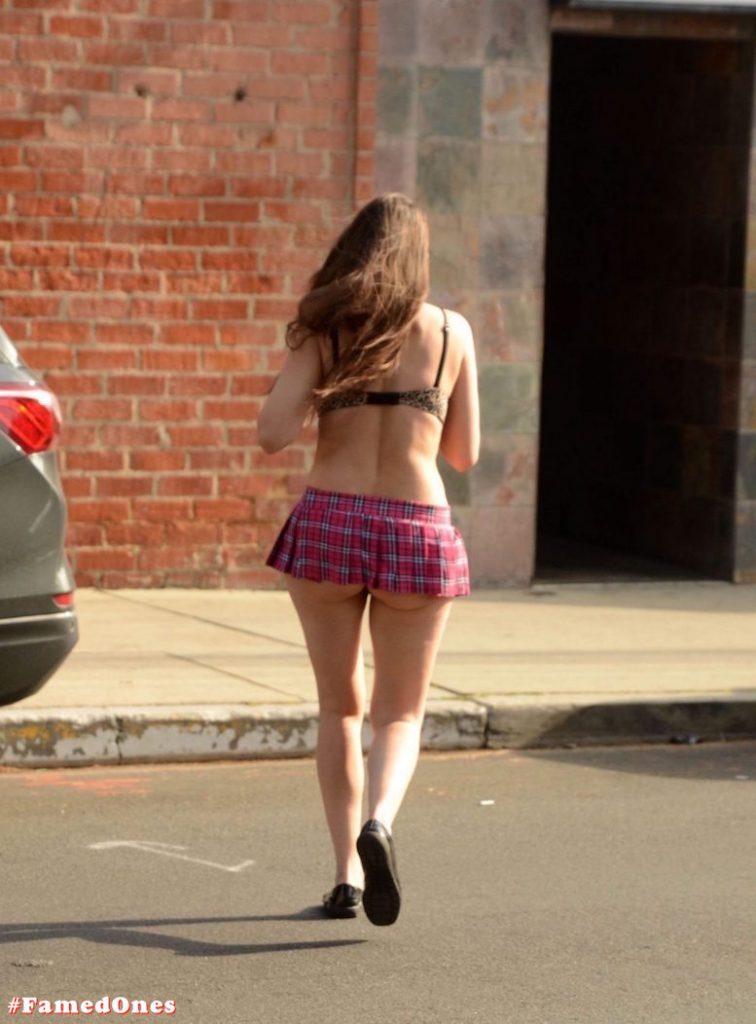 Alicia Arden mini skirt ass show fappening pics FamedOnes.com 039 02