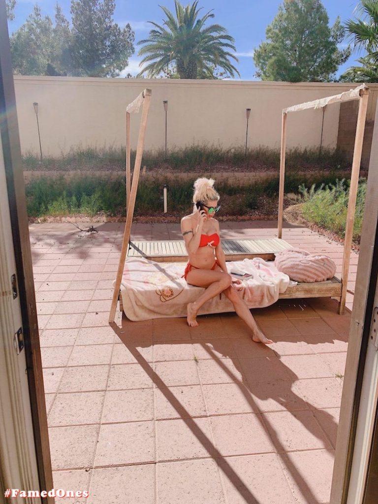 Angelique Frenchy Morgan hot bikini fappening pics FamedOnes.com 064 05