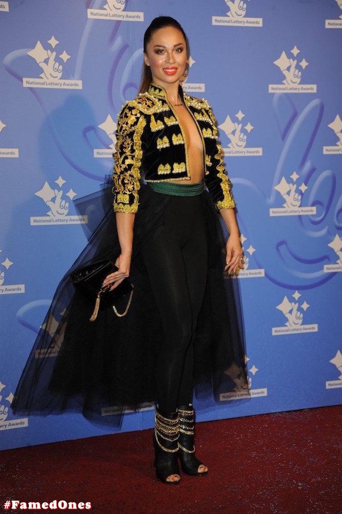 Katya Jones braless public pics FamedOnes.com 001 02