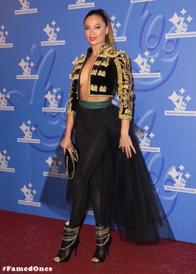 Katya Jones braless public pics FamedOnes.com 001 07