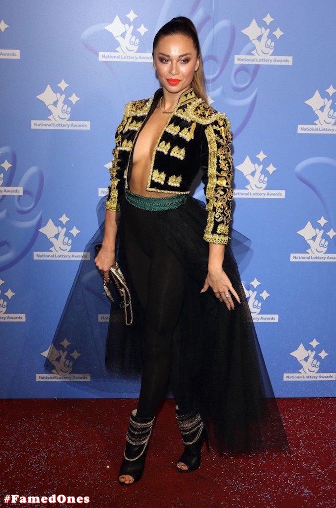 Katya Jones braless public pics FamedOnes.com 001 09