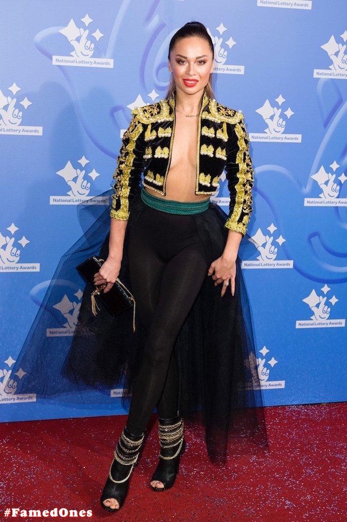 Katya Jones braless public pics FamedOnes.com 001 10
