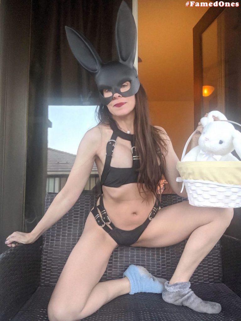 Alicia Arden sexy uniform Easter Bunny fappening pics FamedOnes.com 041 05