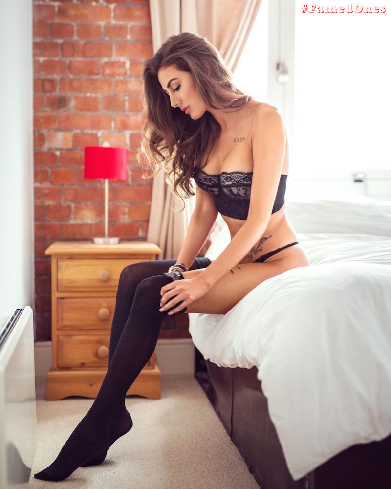Chloe Veitch sexy lingerie fappening pics FamedOnes.com 001 08