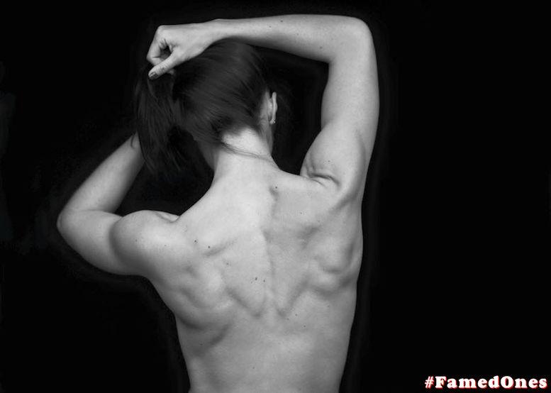 Jade Nimmo nude leaked fappening black white pics FamedOnes 003 02