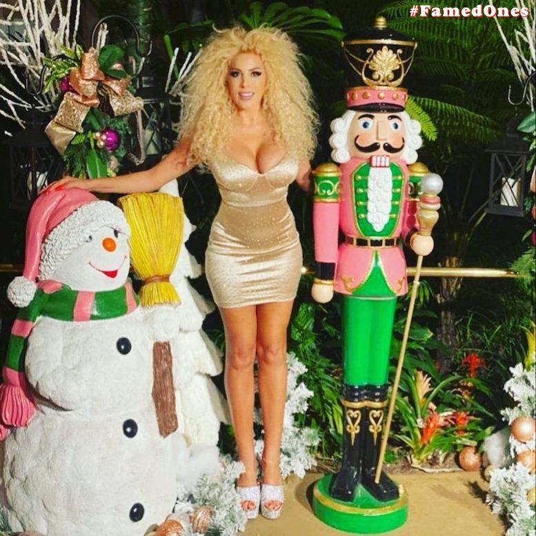 Afida Turner sexy glam pics FamedOnes.com 010 03