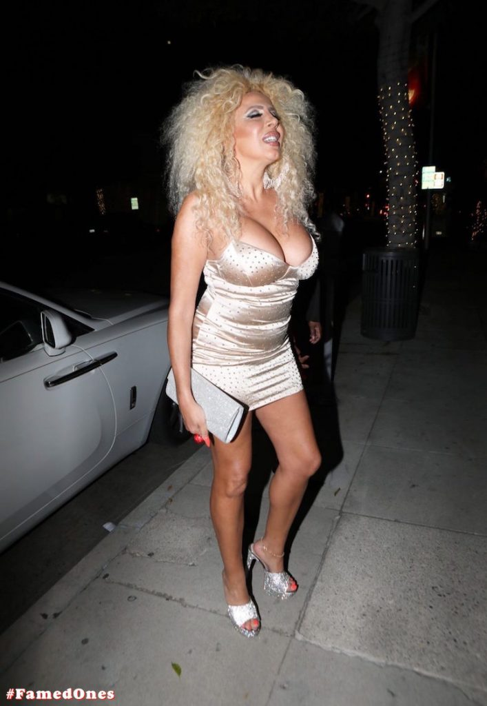 Afida Turner sexy glam public pics FamedOnes.com 011 01