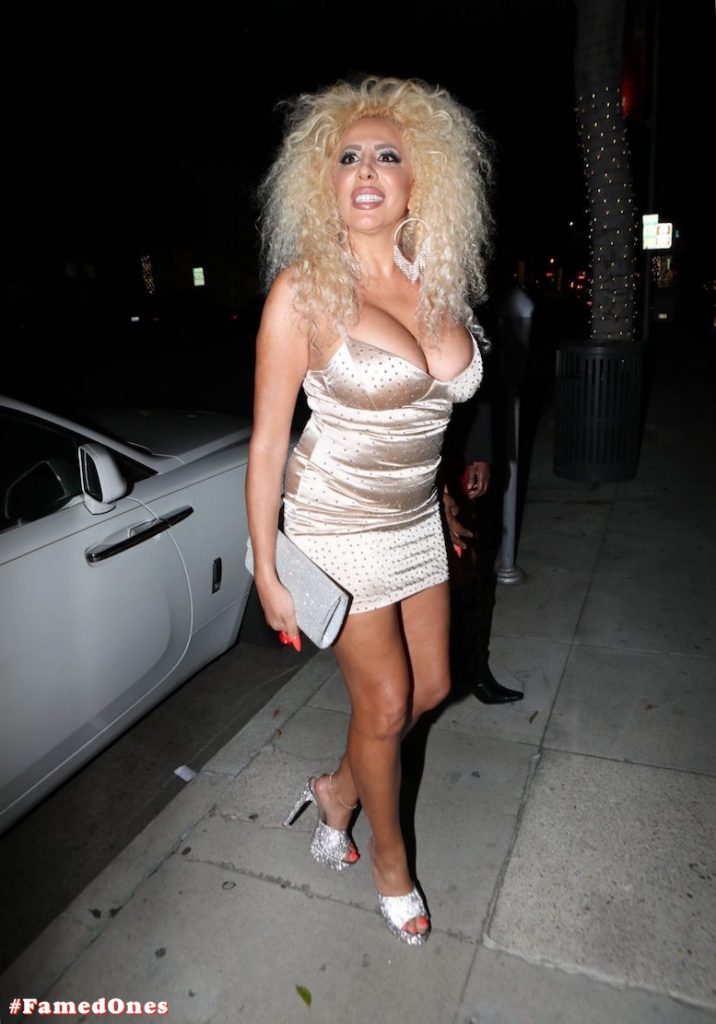 Afida Turner sexy glam public pics FamedOnes.com 011 02
