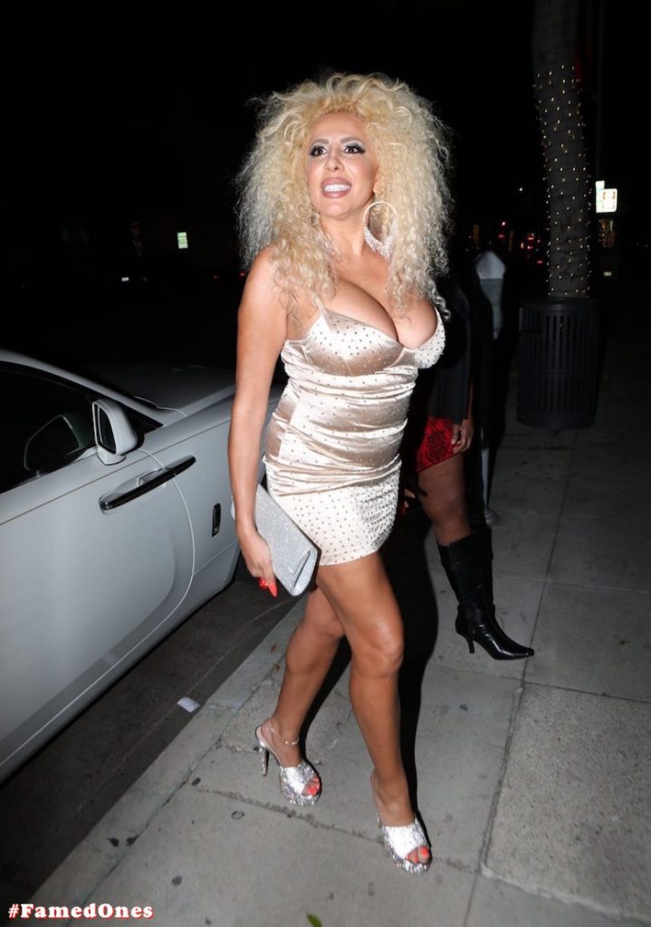 Afida Turner sexy glam public pics FamedOnes.com 011 03