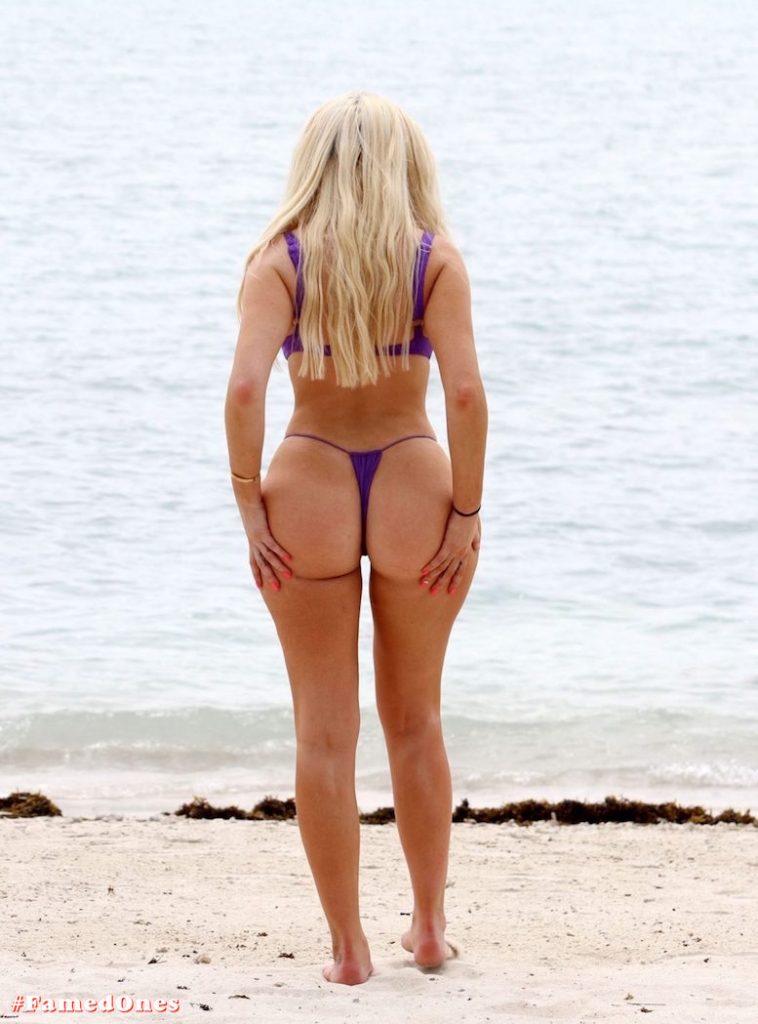 Chloe Ferry underboob sexy violet bikini fappening pics FamedOnes.com 075 01