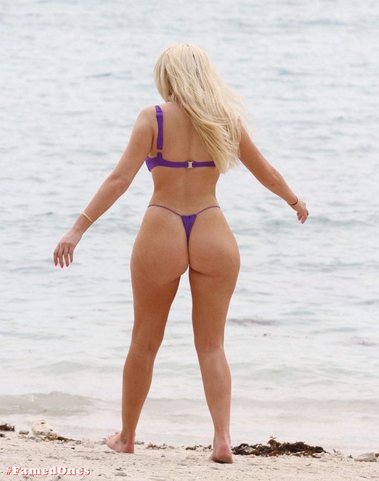 Chloe Ferry underboob sexy violet bikini fappening pics FamedOnes.com 075 04