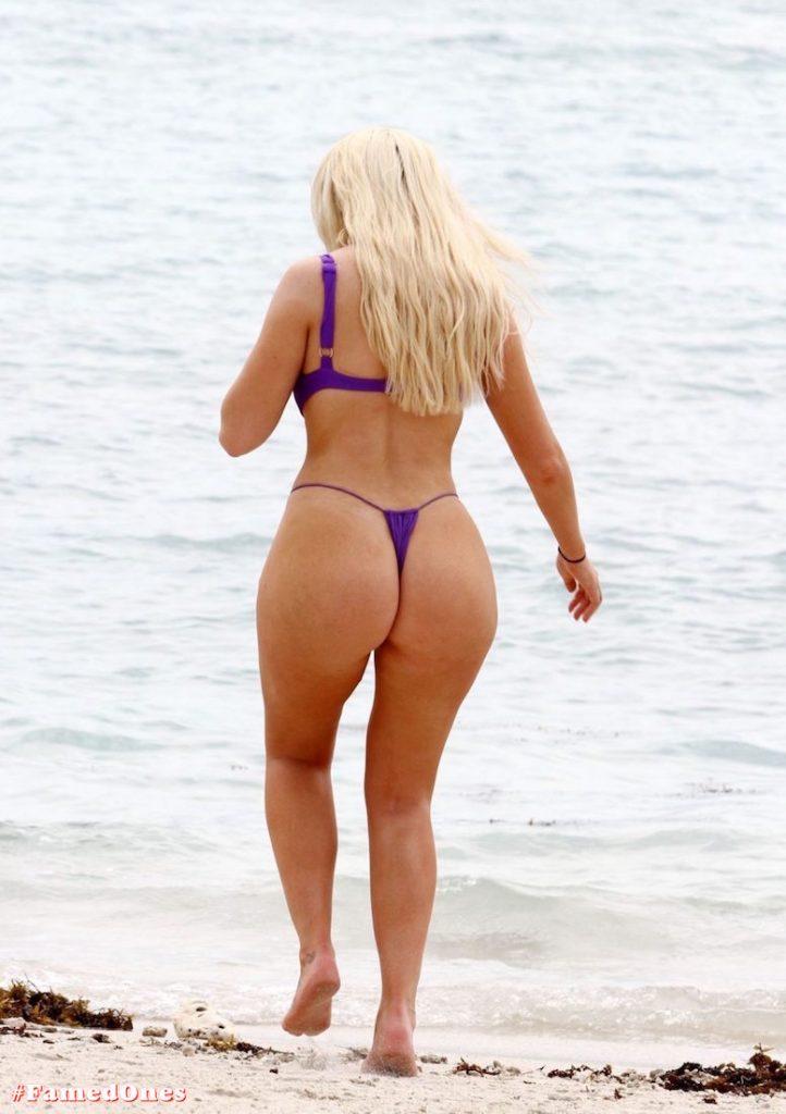 Chloe Ferry underboob sexy violet bikini fappening pics FamedOnes.com 075 05