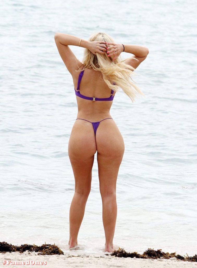 Chloe Ferry underboob sexy violet bikini fappening pics FamedOnes.com 075 07