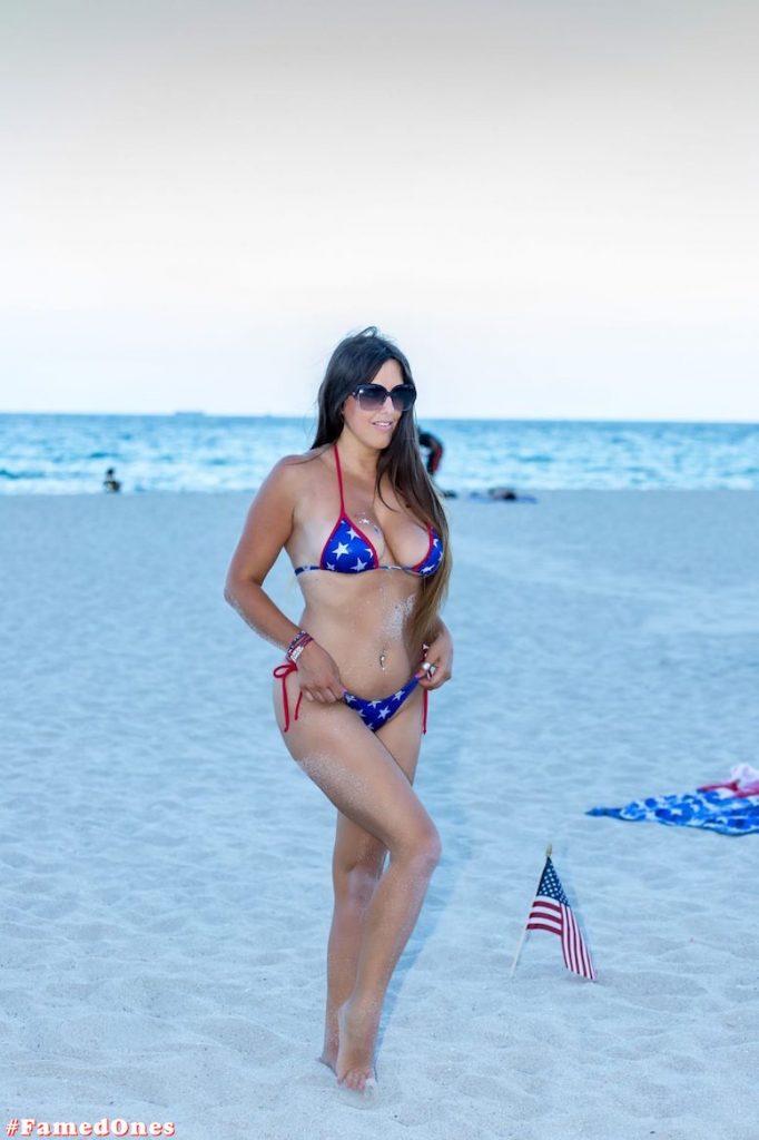 Claudia Romani hot amflag style posing fappening pics FamedOnes.com 198 06
