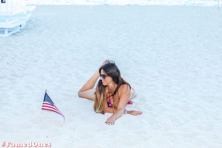 Claudia Romani hot amflag style posing fappening pics FamedOnes.com 198 11
