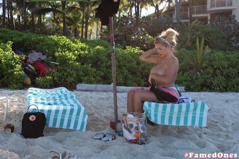 Francesca Cipriani topless paparazzi fappening pics FamedOnes.com 004 01