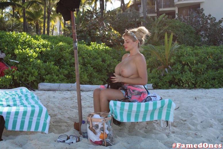 Francesca Cipriani topless paparazzi fappening pics FamedOnes.com 004 02