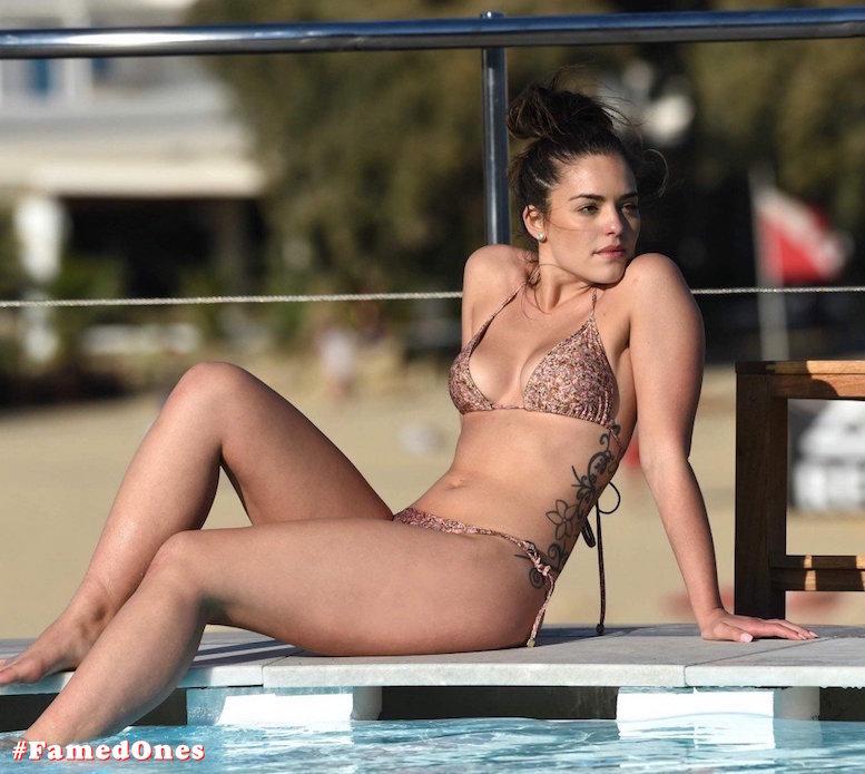 Olympia Valance sexy pool bikini fappening pics FamedOnes.com 005 01