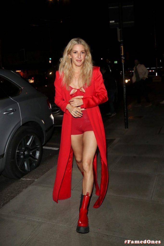 Ellie Goulding sexy cameltoe fappening public pics FamedOnes.com 022 002