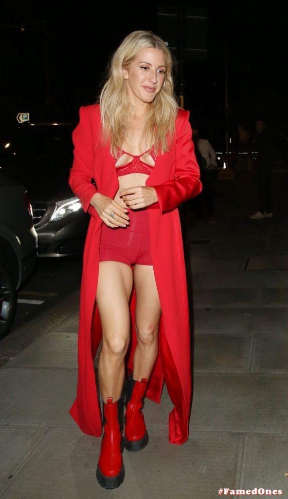 Ellie Goulding sexy cameltoe fappening public pics FamedOnes.com 022 006
