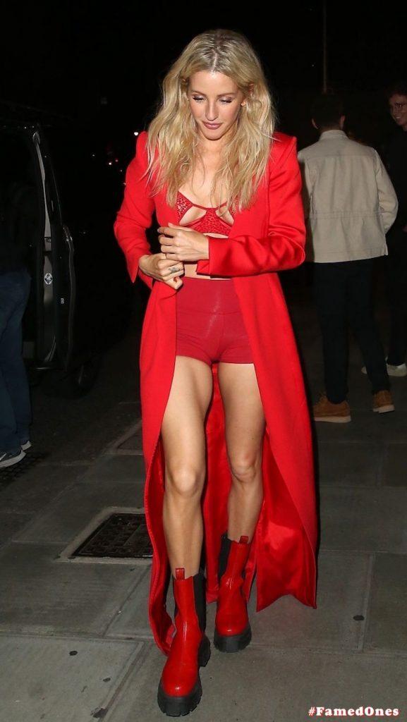 Ellie Goulding sexy cameltoe fappening public pics FamedOnes.com 022 008