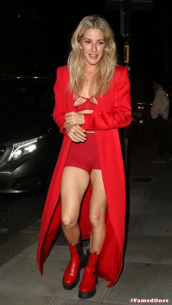 Ellie Goulding sexy cameltoe fappening public pics FamedOnes.com 022 009