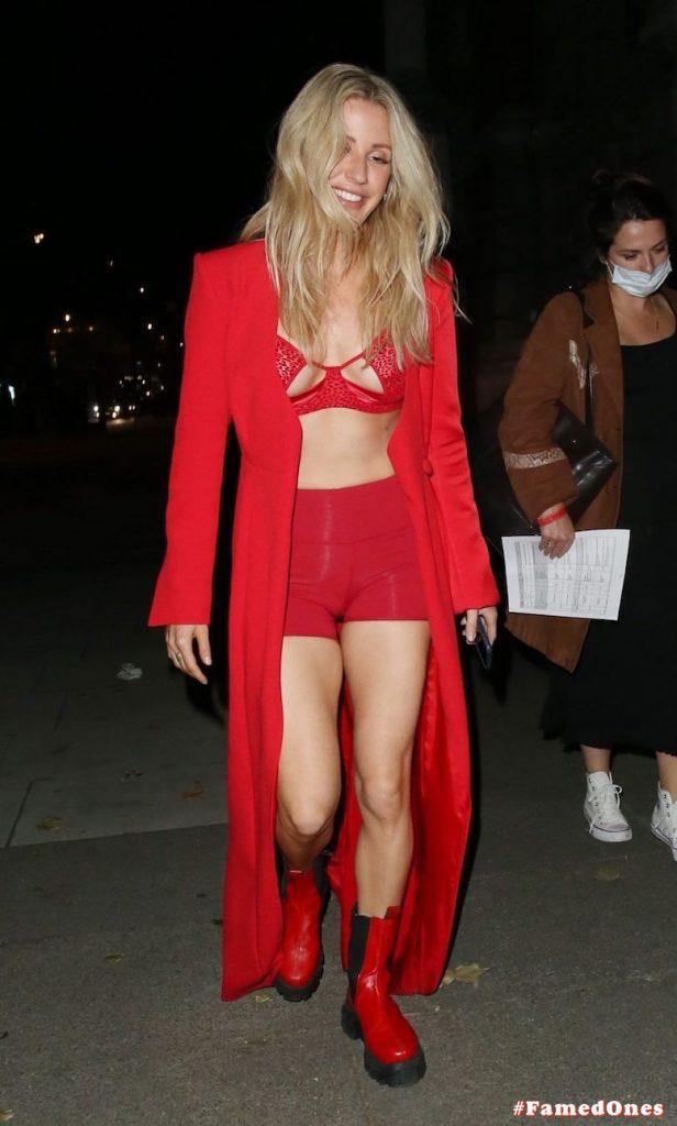Ellie Goulding sexy cameltoe fappening public pics FamedOnes.com 022 018