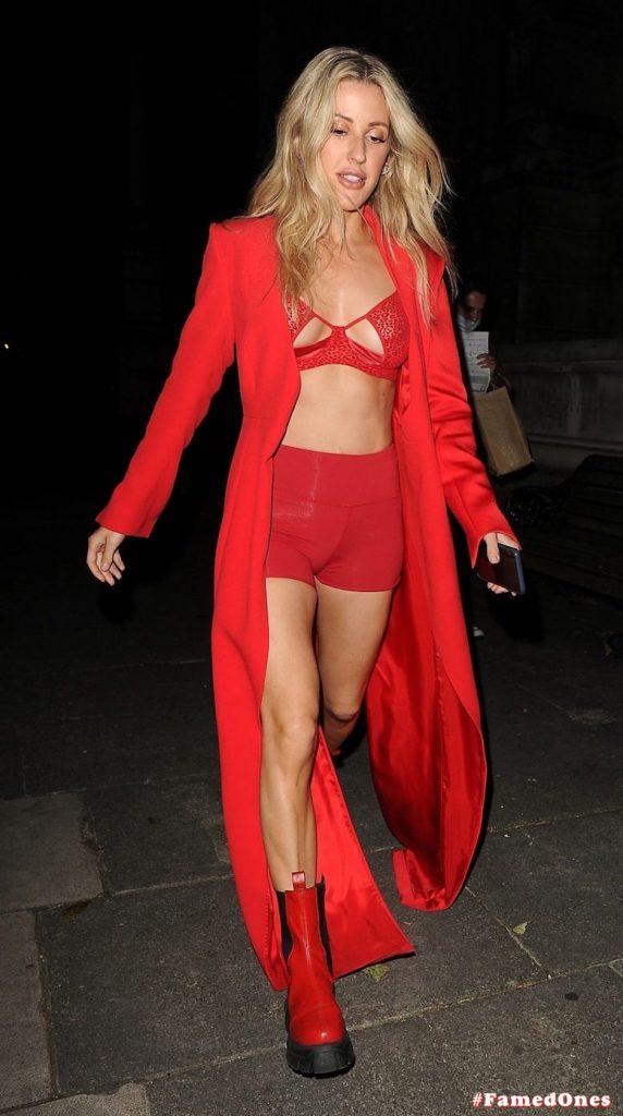 Ellie Goulding sexy cameltoe fappening public pics FamedOnes.com 022 031