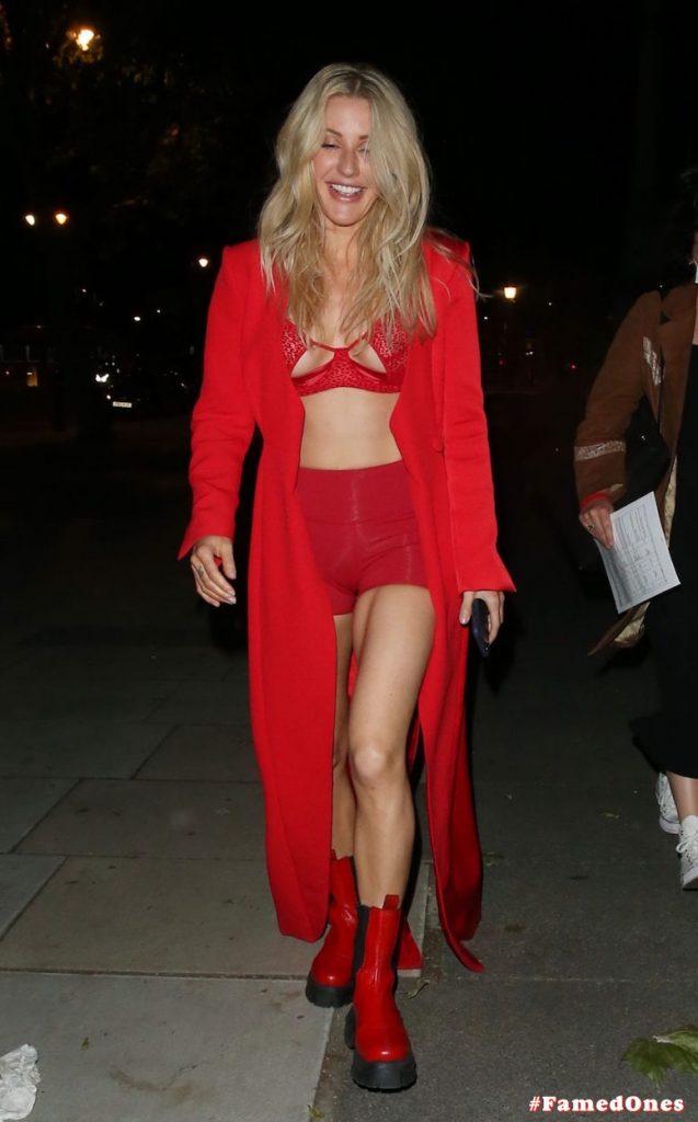 Ellie Goulding sexy cameltoe fappening public pics FamedOnes.com 022 039