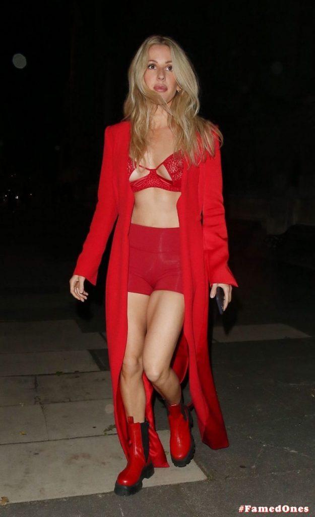 Ellie Goulding sexy cameltoe fappening public pics FamedOnes.com 022 079