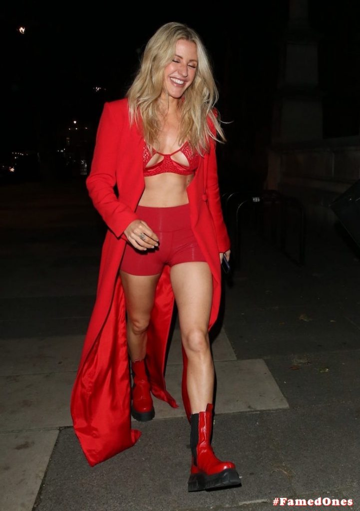 Ellie Goulding sexy cameltoe fappening public pics FamedOnes.com 022 082