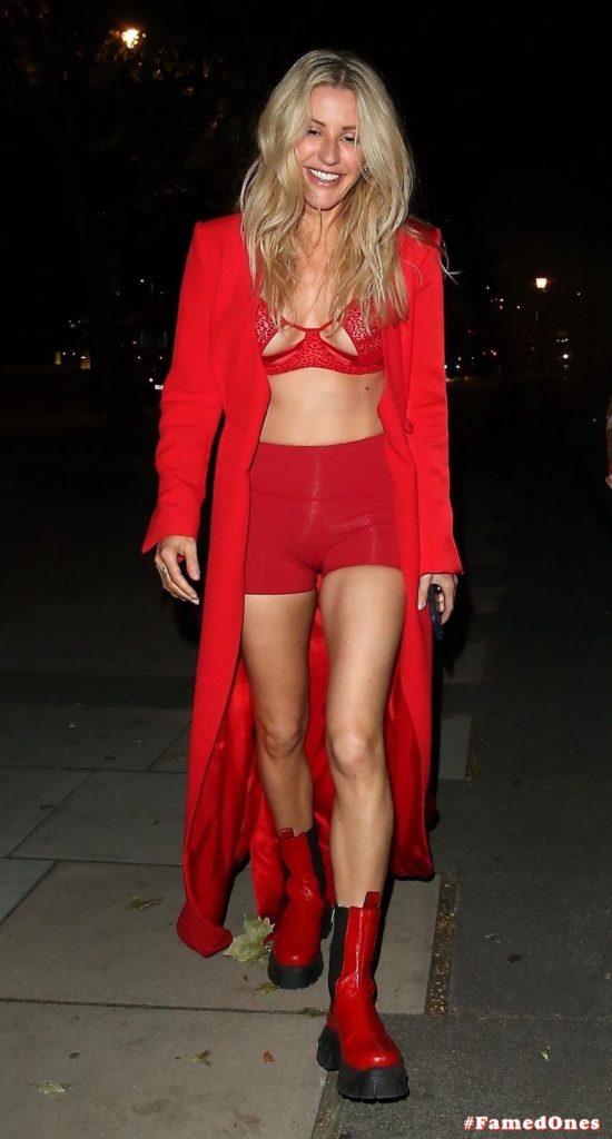 Ellie Goulding sexy cameltoe fappening public pics FamedOnes.com 022 092