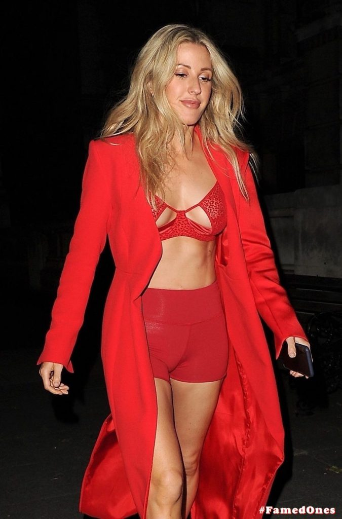 Ellie Goulding sexy cameltoe fappening public pics FamedOnes.com 022 094