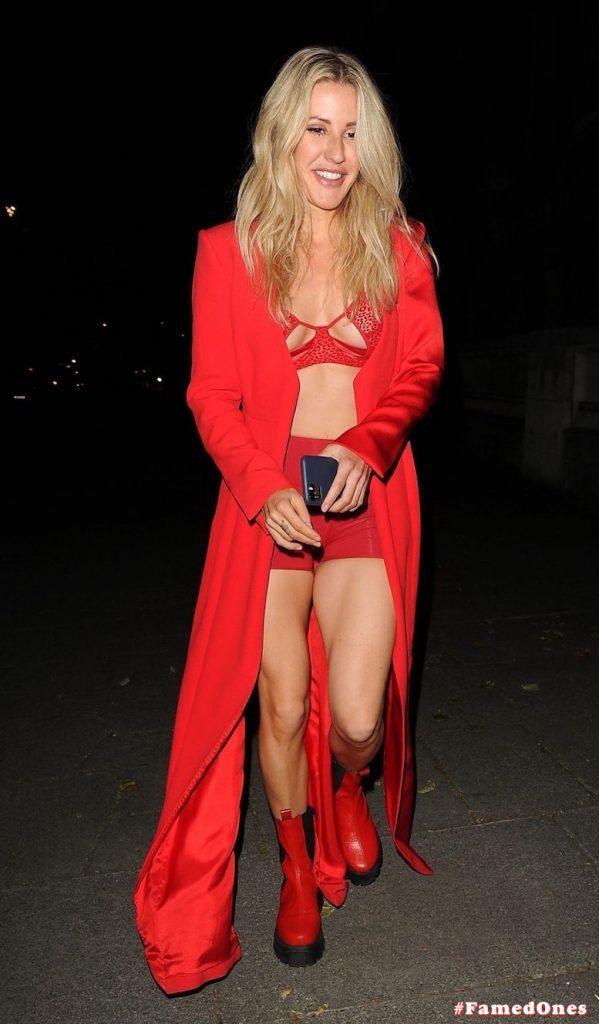 Ellie Goulding sexy cameltoe fappening public pics FamedOnes.com 022 095